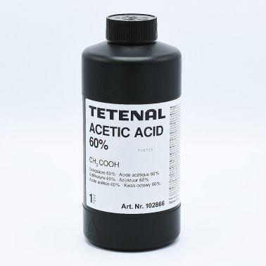 Tetenal Acetic Acid 60% Bain d'Arrêt - 1L