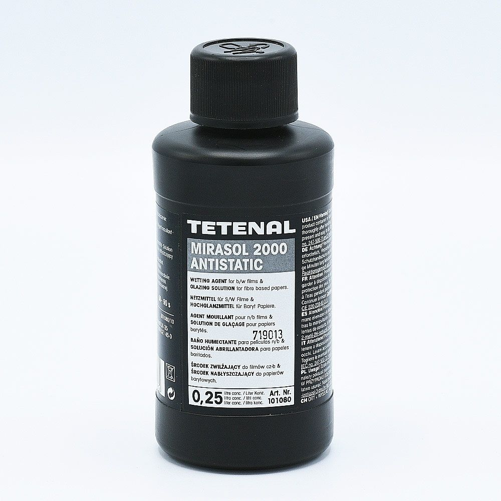 Tetenal Mirasol 2000 Agent Mouillant Antistatique - 250ml