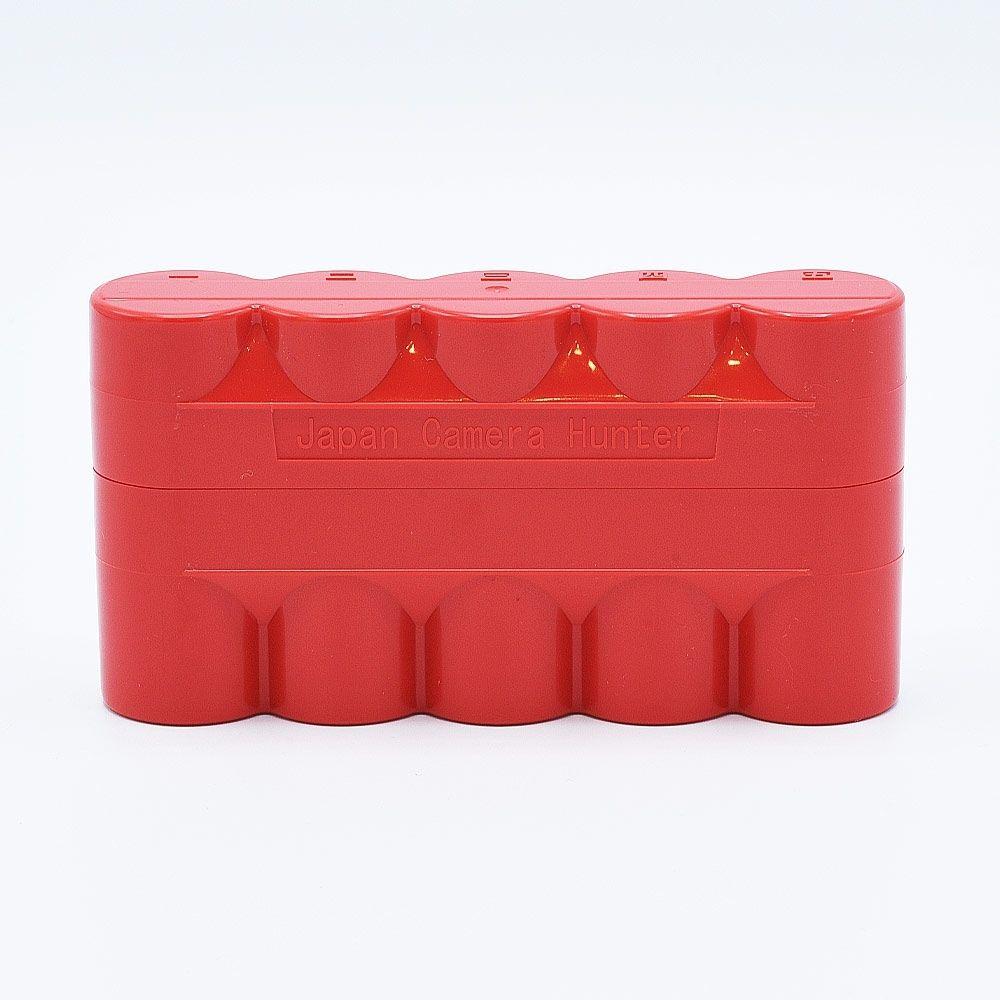 JCH 120 Film Case - 5 Films - Rouge