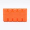 JCH 120 Film Case - 5 Films - Orange