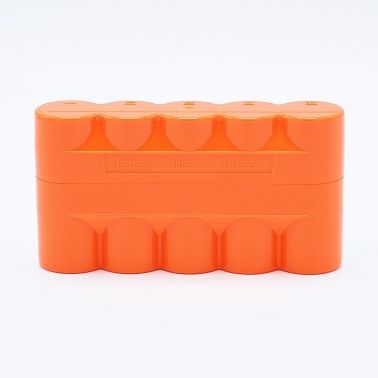 JCH 120 Film Case - 5 Films - Orange