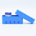 JCH 120 Film Case - 5 Films - Blue