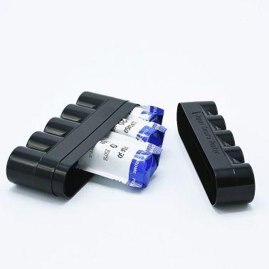 JCH 120 Film Case - 5 Films - Bleu