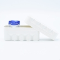 JCH 120 Film Case - 5 Films - White