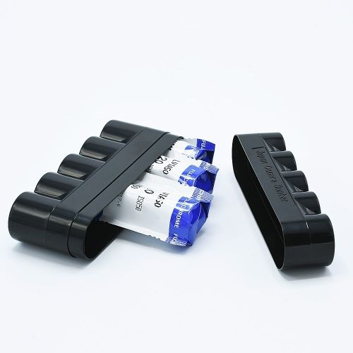 JCH 120 Film Case - 5 Films - Black
