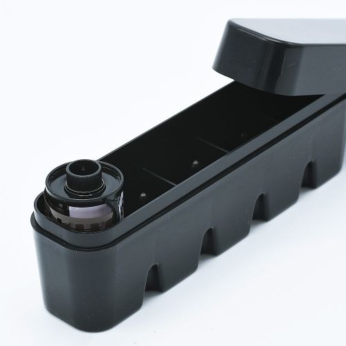 JCH 135 Film Half Case - 5 Films - Black