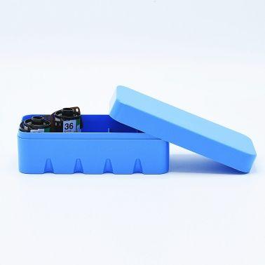 JCH 135 Film Case - 10 Films - Blue