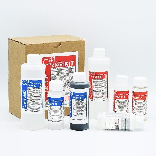 CineStill Cs41 Simplified Color Film Processing Kit (Liquid) - Quart