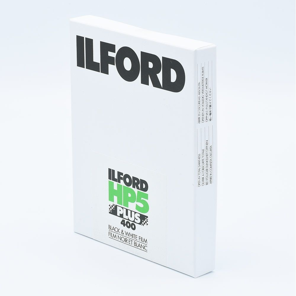 Ilford HP5 Plus 5x7 INCH (12,7x17,8 cm) / 25 sheets