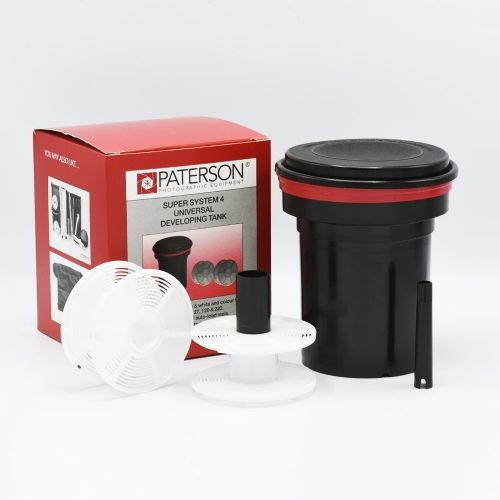 Paterson Universal Film Developing Tank + 2x Auto-load Reels