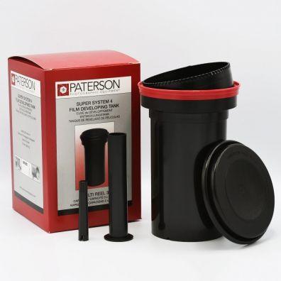 Paterson Cuve de Développement Film - Multi-Reel 3 + MOD54 Mk27 4x5 Processeur de Film Plan