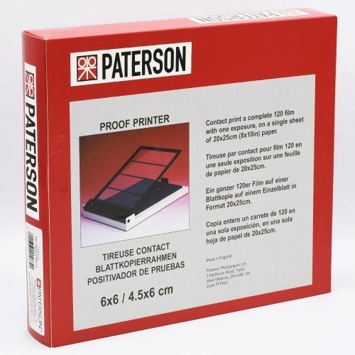 Paterson Contacteuse Film 120 - 20,3x25,4 cm (8x10 inch)