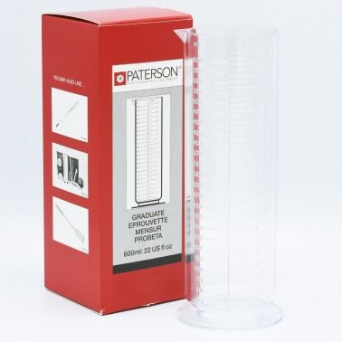 Paterson Graduated Cylinder - 600ml
