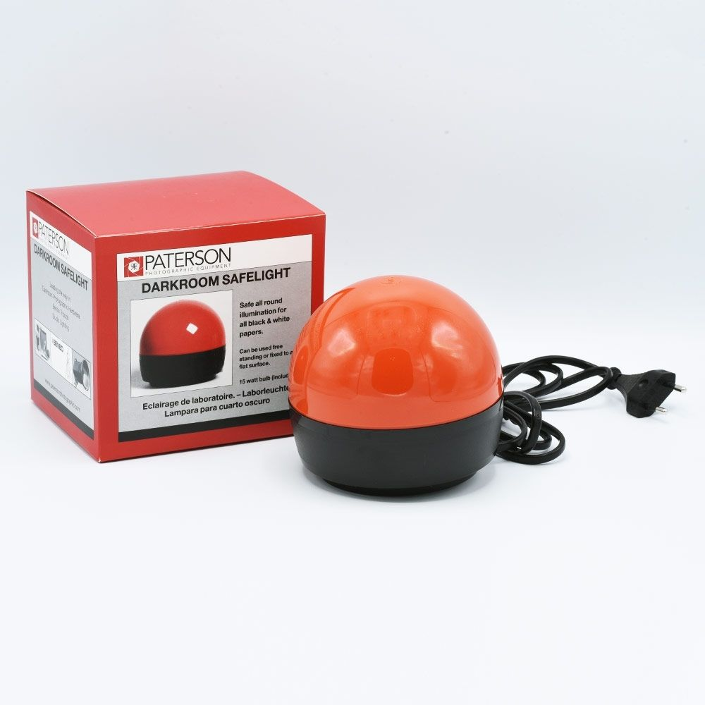 "Paterson Darkroom ""A-Dome"" Safelight - Rood"