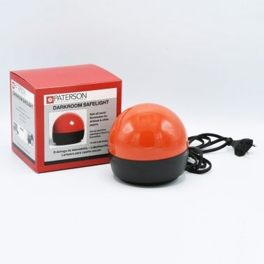 "Paterson Darkroom ""A-Dome"" Safelight - Red"