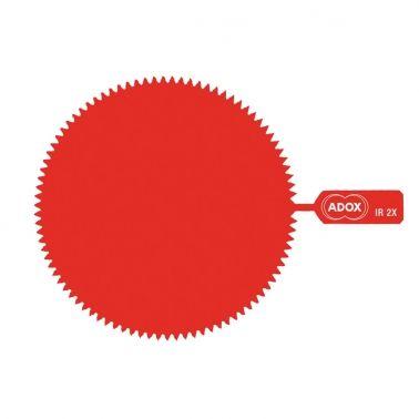 ADOX M46 Snap-On Infrared Gelatine Filter - Factor 2