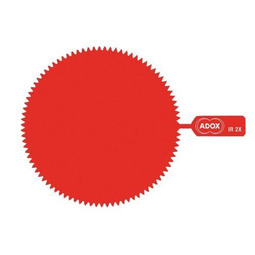ADOX M55 Snap-On Infrared Gelatine Filter - Factor 2