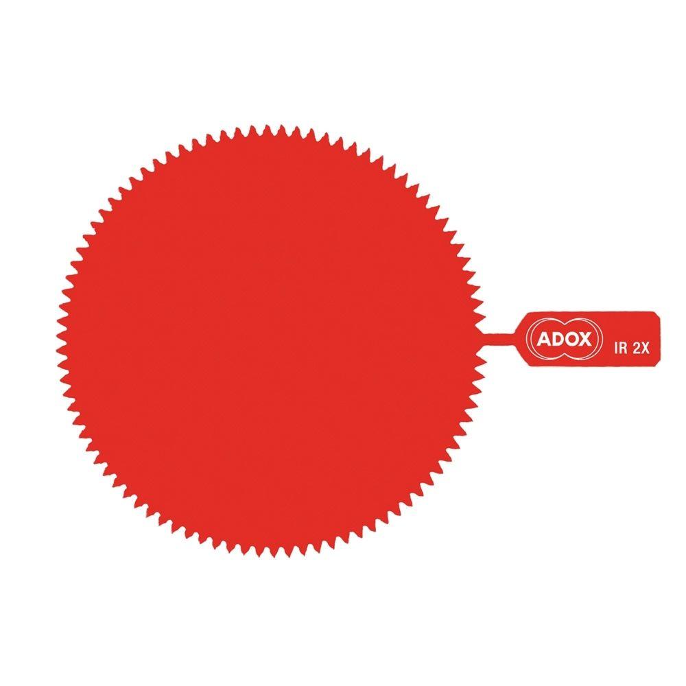 ADOX M72 Snap-On Infrared Gelatine Filter - Factor 2