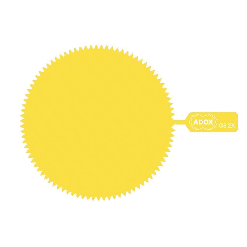 ADOX M62 Snap-On Yellow Gelatine Filter - Factor 2