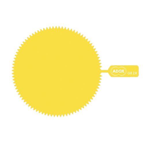 ADOX M72 Snap-On Yellow Gelatine Filter - Factor 2