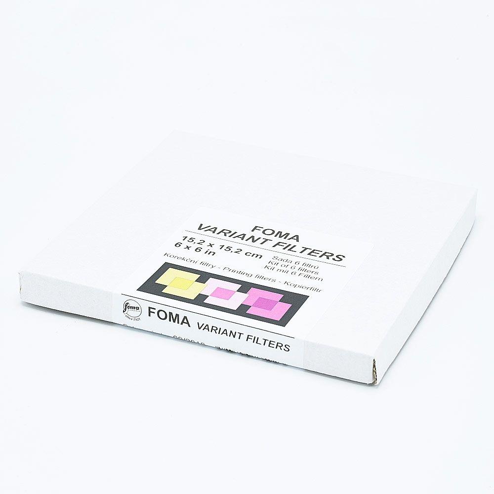 Foma Variant Multigrade Filters - 15,2 cm x 15,2 cm