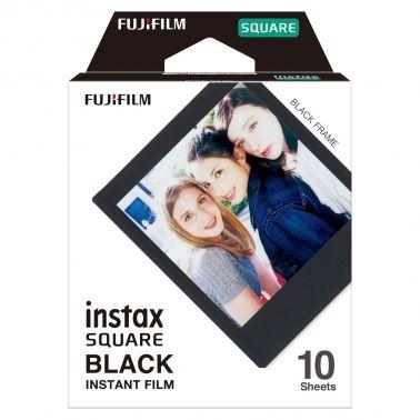 Fujifilm Instax SQUARE Film Black Frame / (1x10)