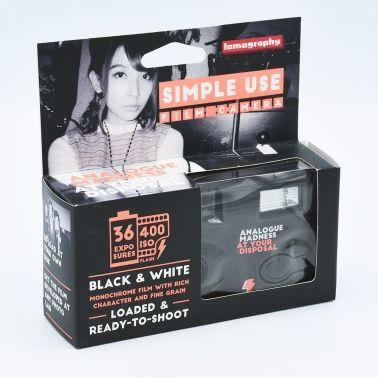 Lomo Single Use Camera B&W / 36 exposures