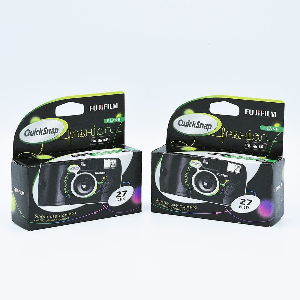 Fujifilm Quicksnap Single Use Camera / 27 exposures (2-pack)