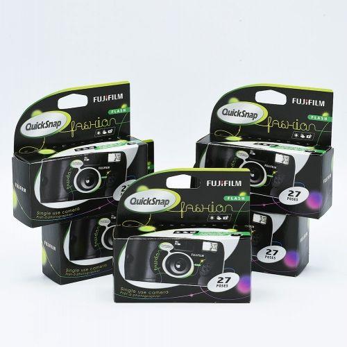 Fujifilm Quicksnap Wegwerpcamera / 27 opnames (5-pak)