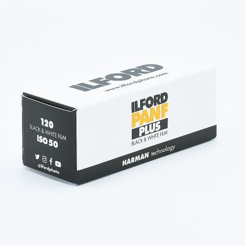 Ilford PAN F Plus 50 120