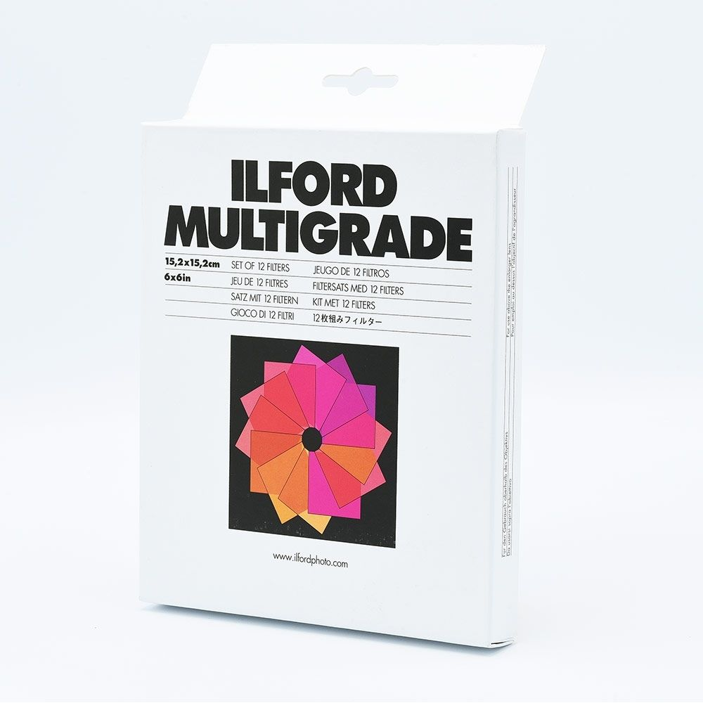 Ilford Multigrade Filter Set - 15,2 x 15,2 cm (6 x 6 inch)