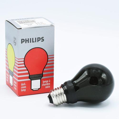 Philips Geel-Groene Doka Lamp 240V 15W