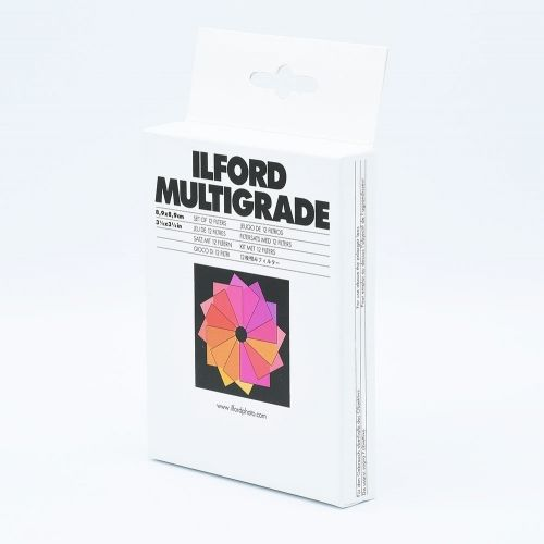 Ilford Multigrade Filter Kit - 8,9 x 8,9 cm (3½ x 3½ inch)