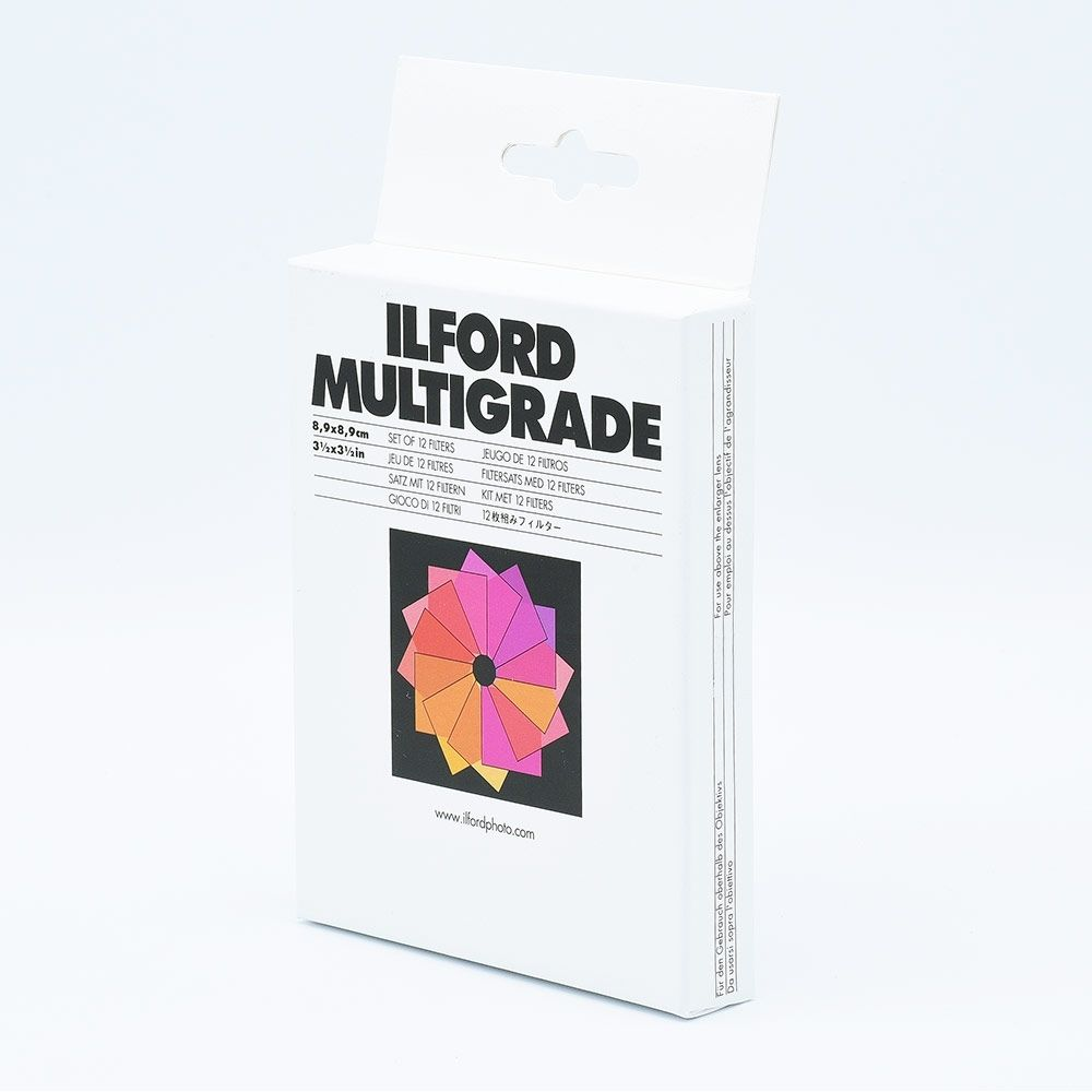 Ilford Multigrade Filter Kit - 8,9 x 8,9 cm (3½ x 3½ inch)