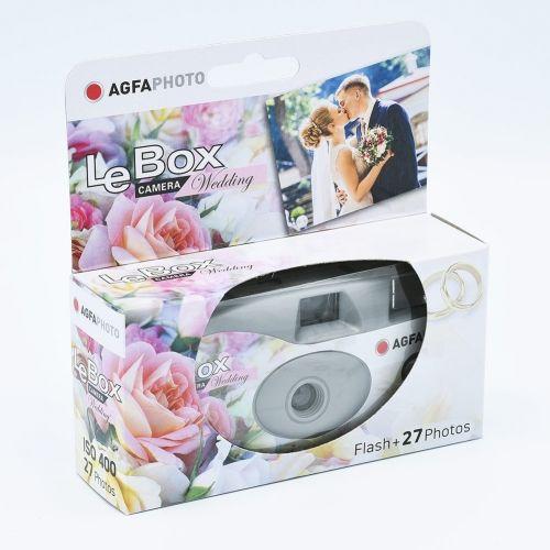 AgfaPhoto LeBox Wedding Appareil Photo Jetable / 27 poses
