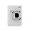 Fujifilm Instax Mini LiPlay Instant Camera - Stone White