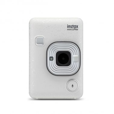 Fujifilm Instax Mini LiPlay Instant Camera - Stone White