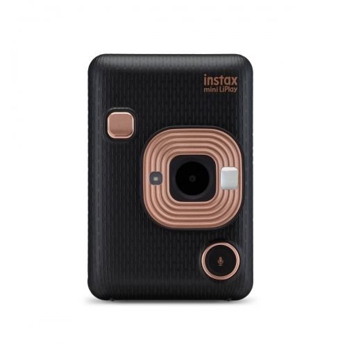Fujifilm Instax Mini LiPlay Instant Camera - Elegant Black