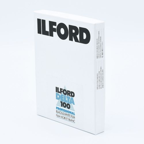 Ilford Delta 100 4x5 INCH / 100 sheets
