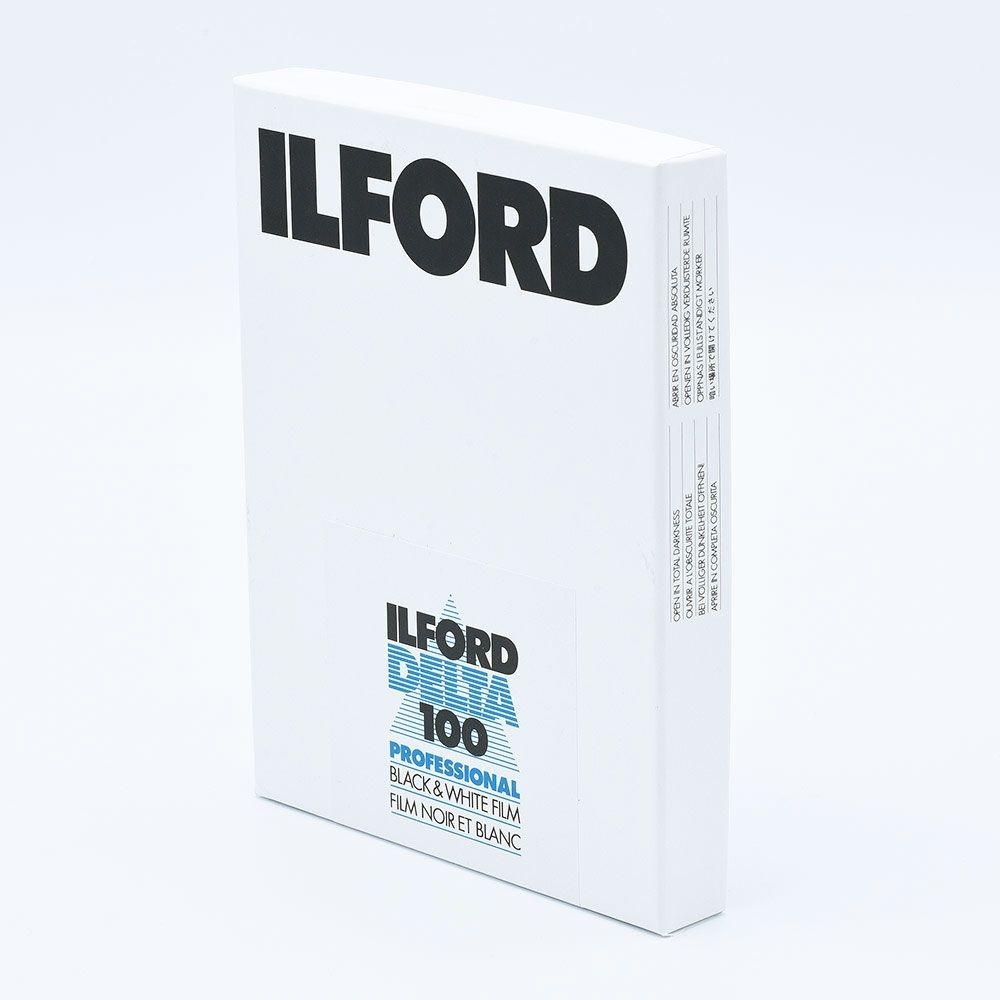 Ilford Delta 100 4x5 INCH / 100 sheets