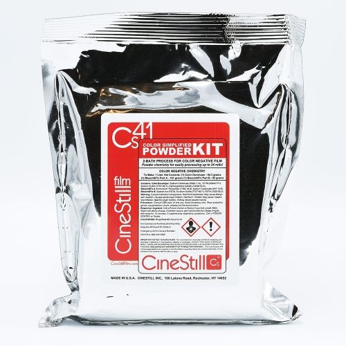 CineStill Cs41 Simplified Color Film Processing Kit (Poudre) - Quart