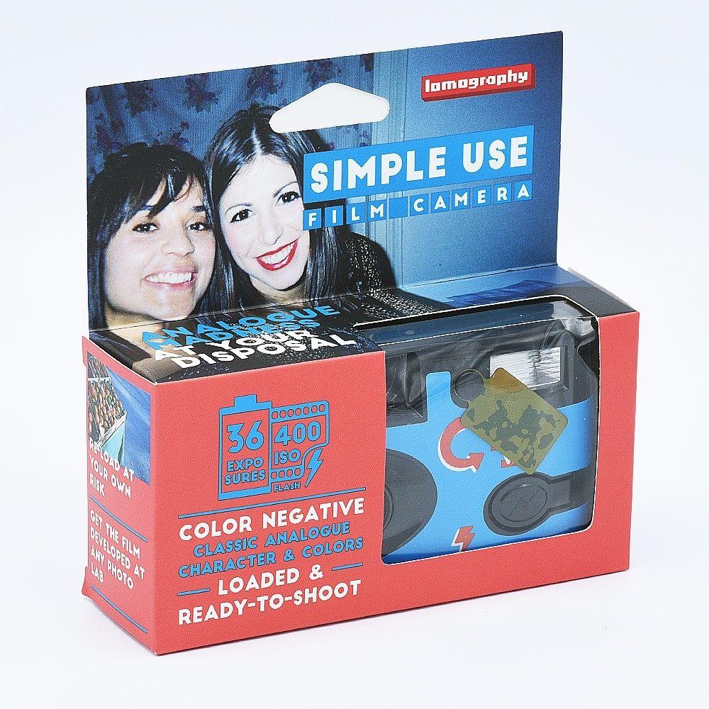 Lomo Single Use Camera Color / 36 exposures
