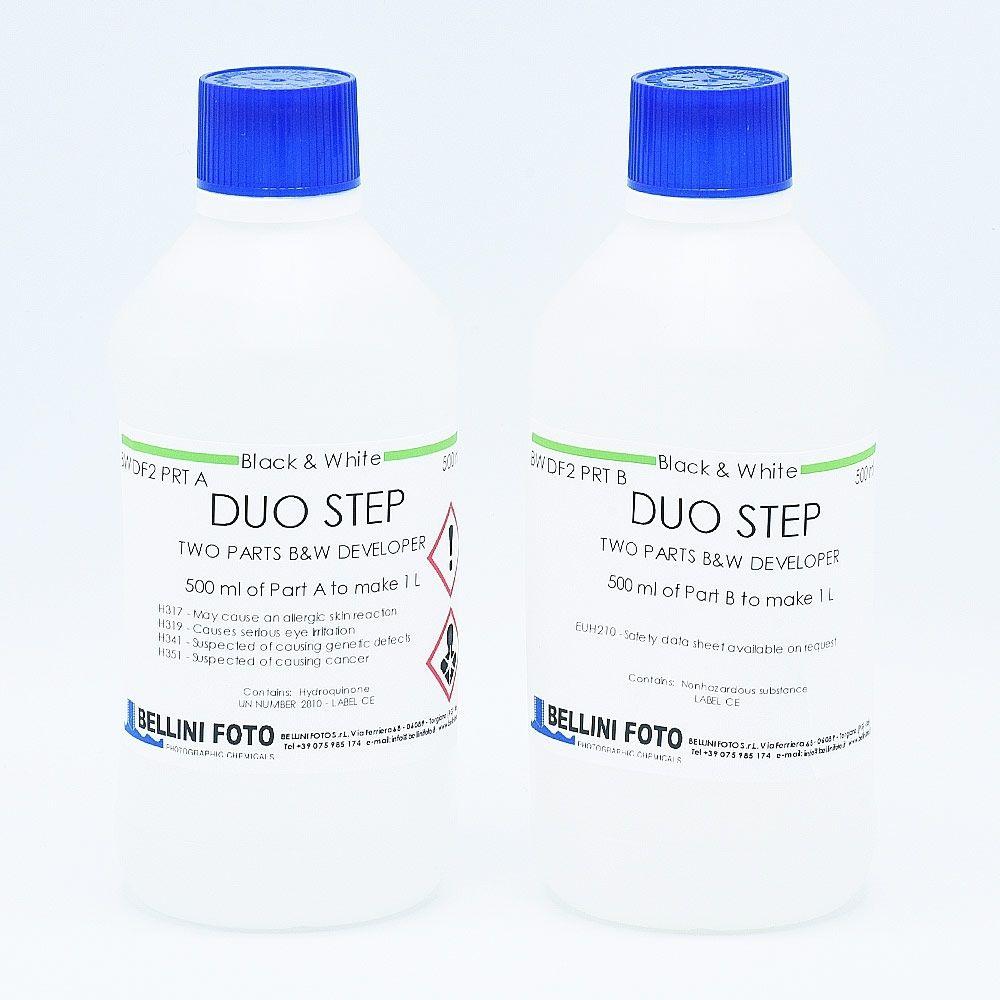 Bellini Duo Step (Liquid Diafine) Film Developer - Part A (500ml) + Part B (500ml)
