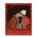 Polaroid 600 Color Instant Film - Festive Red Frame Edition