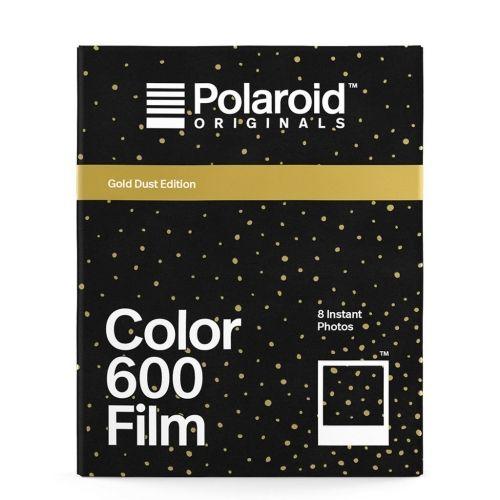 Polaroid 600 Color Instant Film - Édition Poussière d'Or