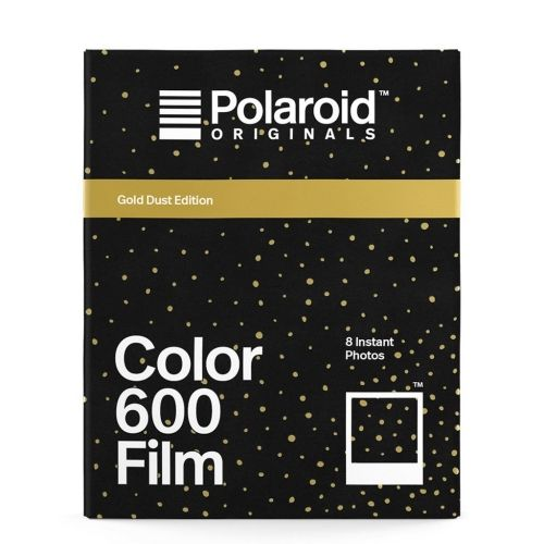 Polaroid 600 Color Instant Film - Gold Dust Edition