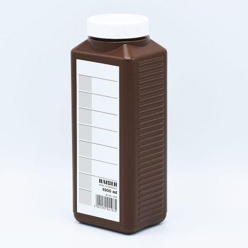 Kaiser Bouteille de stockage de Produits Chimiques (Marron) - 1000ml