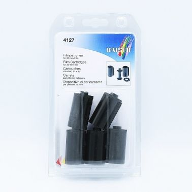 Kaiser 35mm Film Cartridges (Plastic) - 5 pcs
