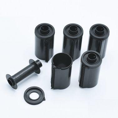 Kaiser 35mm Film Cartridges (Plastic) - 5 pcs