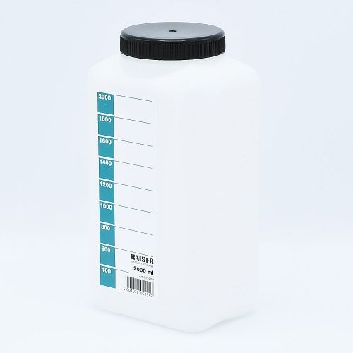 Kaiser Chemical Storage Bottle (White) - 2000ml